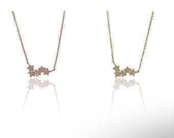 Milkway Necklace with Cyrstals 925 / Sterling Silver