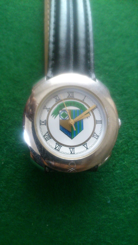 Benetton by bulova rare vintage water resistant watch for Benetton watches