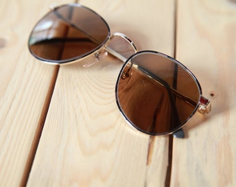SALE - Nineties Metal Frame Sun Glasses