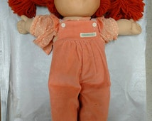 Cabbage Patch Doll 1980's Red Hair and Green Eyes