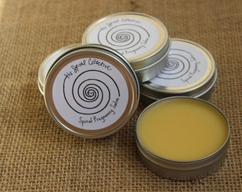 Pregnancy Salve || 2 Oz || Soothing, Stretch Marks, Pregnancy Safe