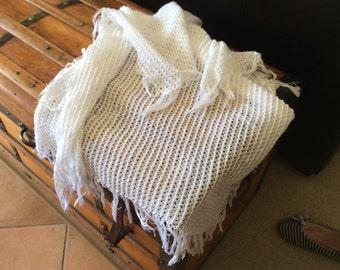 Baby shawl, handmade