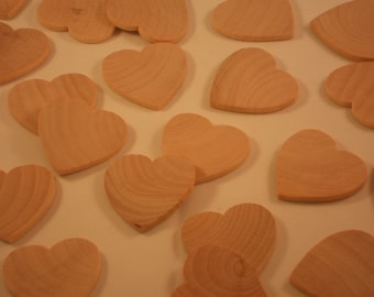 100 Wooden Hearts, Wood Heart, Wooden Hearts, Unfinished Wood Hearts, Wedding Guest Book Hearts Wedding Favors