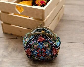 Cotton purse/cotton bag/purse frame/coins purse