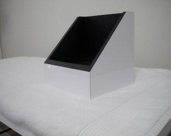 White Gloss 7'' Vinyl Display