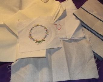 embroidery aida cloth