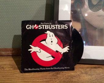 Ghostbusters vintage vinyl