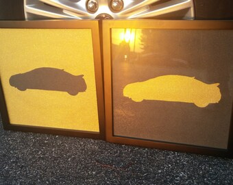 CUSTOM Silhouette--of YOUR car!