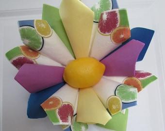 Z SM Lemon Wreath