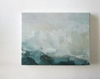 Original scandinavian landscape oil painting
