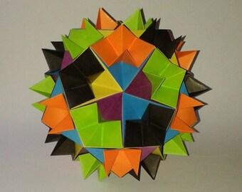 Origami spiky ball