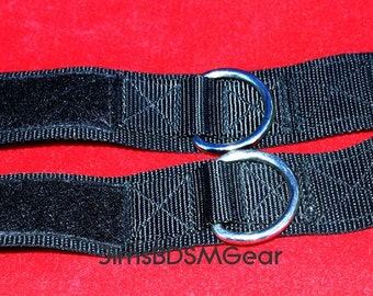 Nylon Wrist Restraints with Velcro closure - sturdy, strong, and with great hold down power!