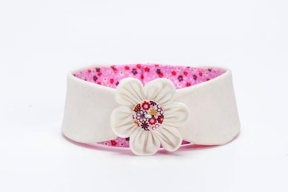 Items Similar To Dog Collar, Wedding Dog Collar Flower Dog