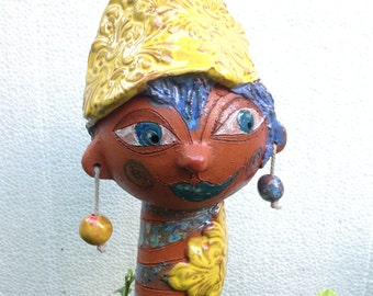 BORYNKA SVENSKY, sculpture, Garden ceramics