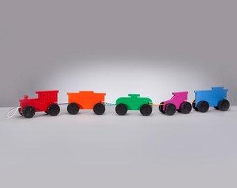 5 Piece Pull along Train Set