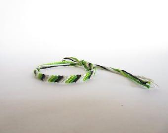 Aromantic Flag Bracelet (Diagonal)