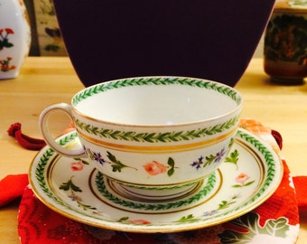 Cup and saucer made in France