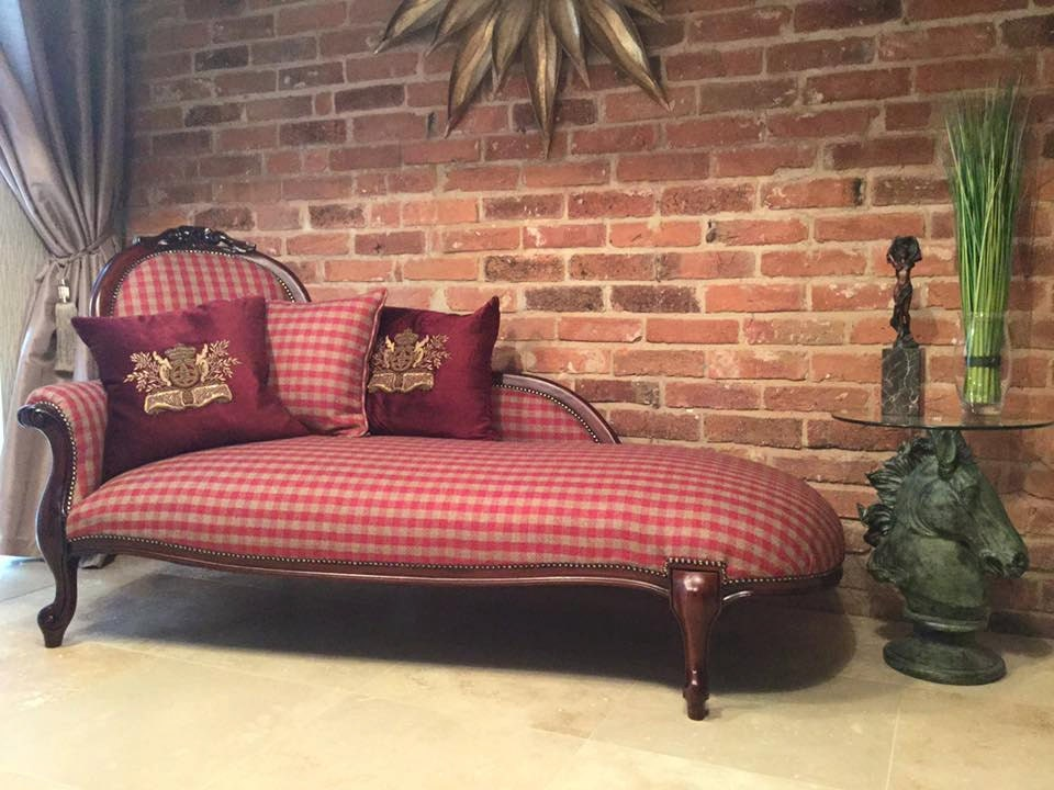 darwin antique chaise longue restored and reupholstered haute juice. Black Bedroom Furniture Sets. Home Design Ideas