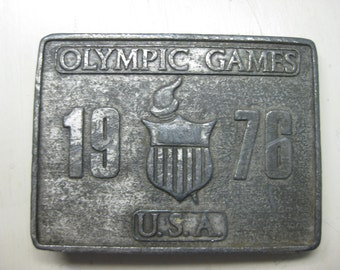 1976 Olympic Games Belt Buckle