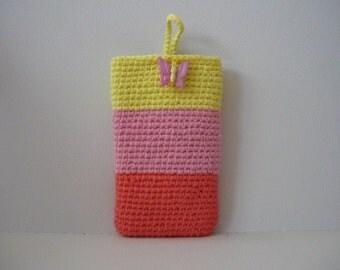 Crochet Phone Case, Cotton Phone Case