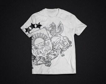 JV LATVIA - white t-shirt