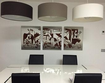 Triptych of Modern Art in stainless steel