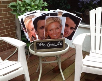 Face Paddles-Use as a game at a Bridal Shower or Baby Shower, Fun for Birthdays and Graduations too!!
