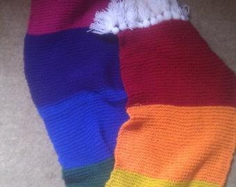 Tassle Rainbow Scarf