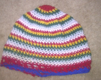 Colourful hat