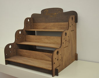 Wooden Accessories and Decoration Shelf