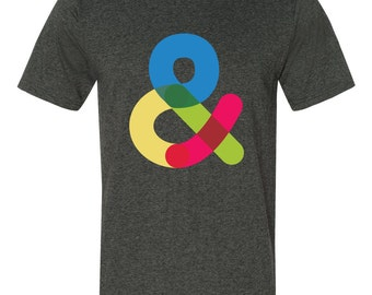 Ampersand Typography T-shirt