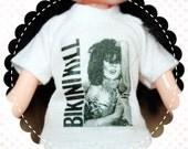 Bikini Kill White Tee T-Shirt for Blythe