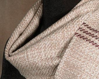 Wool scarf / winter scarf / merino wool / handwoven scarf