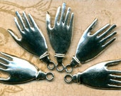 Hamsa Hand Pendant Charms Large size Buddha