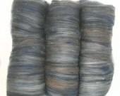 handcarded batt spinning fiber 3 oz