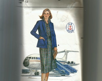 Butterick  Misses' Jacket, Skirt, and Blouse Pattern 6356