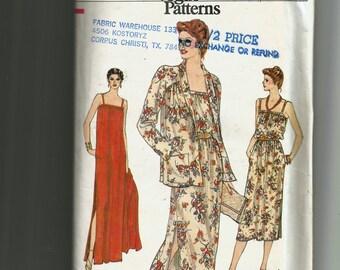 Vogue Misses' Jacket and Dress Pattern 7369