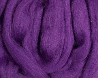 Merino Top Purple Ashland Bay 2 Ounces