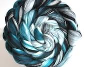 Merino Wool Spinning Felting Fibre Combed Top Spearmint