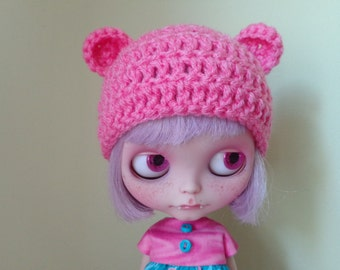 PERFECT PINK teddy ears. smaller ears version