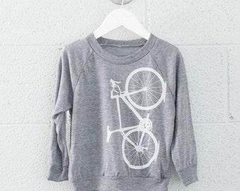 Toddler Bicycle 4T Raglan Long Sleeve Tee