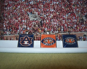FANtastic ! ! Are We Ready for Some Football  -  AUBURN TIGERS Pendants  -  7.00 each