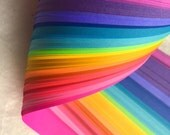 "5/8"" Weaving Paper Strips~ Bright Rainbow (100 strips)"