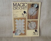 Vintage Magic Crochet magazine number 5 FREE SHIPPING
