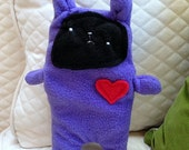 Fig ~ The Bunny Bummlie ~ Stuffingless Dog Toy