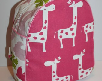 Handmade Giraffe Backpack for a Toddler -Ready to Ship- CLEARANCE TAKE 30% OFF- no coupon code needed