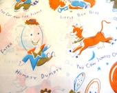 Vintage Dennison Baby Shower Gift Wrap Scrapbooking Decopouge Altered Art Collage