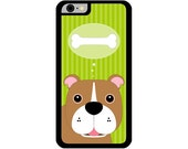 Phone Case - Bulldog - Hard Case for iPhone 4, 4s, 5, 5s, 5c, 6, 6 Plus - iPod Touch 4, 5 - Galaxy S3, S4, S5