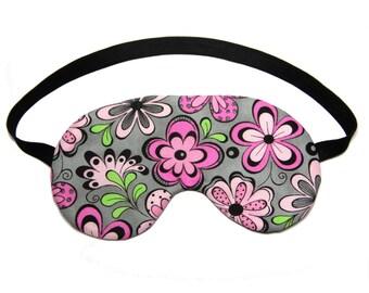 Pink Flower Pop Sleep Eye Mask Sleeping Eye Mask