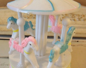 Merry Go Round Carousel / Cake Topper / So Sweet